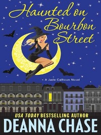 Haunted on Bourbon Street Book Cover